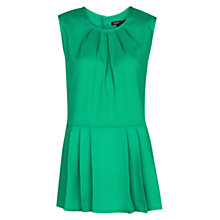 Buy Mango Pleated Peplum Top Online at johnlewis.com