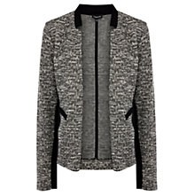 Buy Warehouse Tweed Jacket, Light Grey Online at johnlewis.com