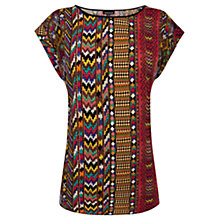 Buy Warehouse Aztec T-Shirt, Multi Online at johnlewis.com