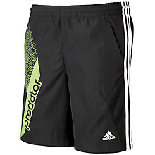 Buy Adidas Boy's Predator Woven Shorts Online at johnlewis.com