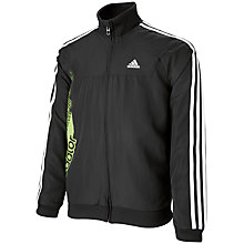 Buy Adidas Boys' Predator Tracksuit Top, Black/White Online at johnlewis.com