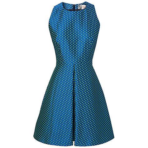 Buy Boutique by Jaeger Racer Dress, French Navy Online at johnlewis.com