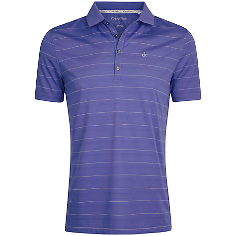Buy Calvin Klein Golf Striped Polo Shirt Online at johnlewis.com