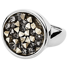 Buy Dyrberg/Kern Daniela Swarovski Elements Rings, Silver Online at johnlewis.com