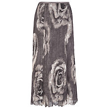 Buy Windsmoor Floral Crinkle Skirt, Mole Online at johnlewis.com