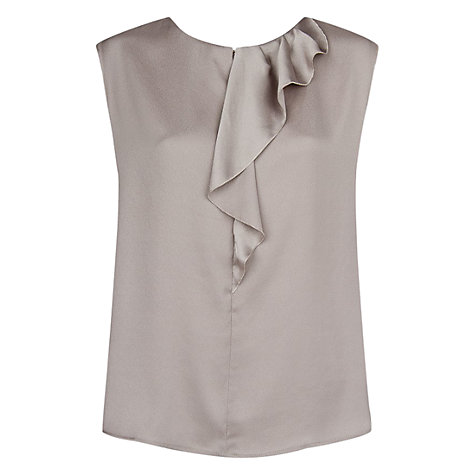 Buy Mango Ruffle Detail Blouse Online at johnlewis.com