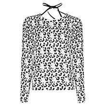 Buy Mango Leopard Print Jumper Online at johnlewis.com