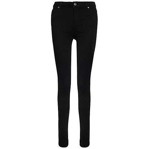 Buy Whistles True Black Skinny Jeans 32L, Black Online at johnlewis.com
