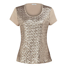 Buy Planet Sequin Front Top Online at johnlewis.com