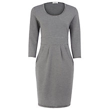 Buy Kaliko Striped Jersey Dress, Grey Online at johnlewis.com