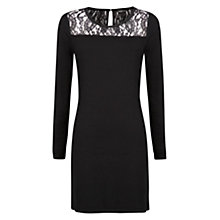 Buy Mango Lace Appliqué Dress Online at johnlewis.com