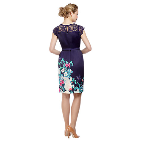 Buy Kaliko Rosamond Dress, Multi Blue Online at johnlewis.com