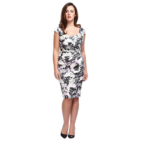 Buy Alexon Austere Print Dress Online at johnlewis.com
