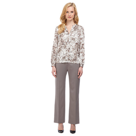 Buy Planet Animal Print Blouse, Multi Light Online at johnlewis.com