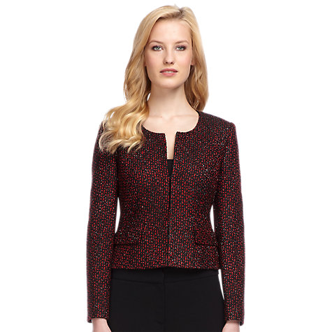 Buy Planet Tweedy Jacket, Multi Dark Online at johnlewis.com