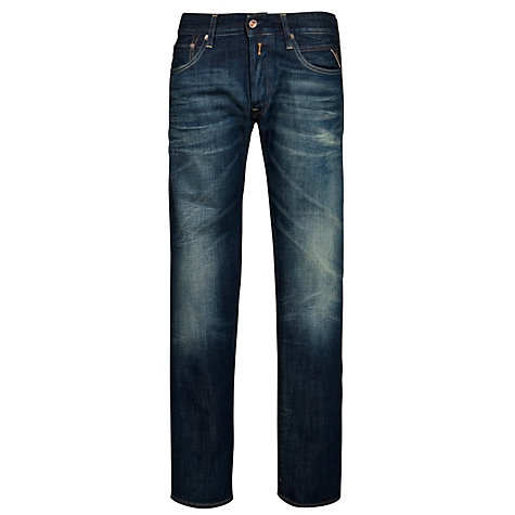 Buy Replay Lenrick Mid Wash Premium Jeans Online at johnlewis.com
