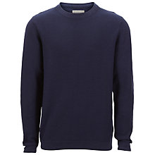 Buy Selected Homme Rain Cotton Crew Neck Jumper Online at johnlewis.com