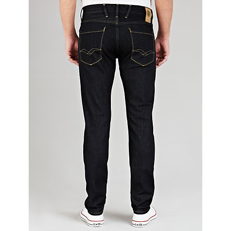 Buy Replay Anbass Jeans, Clean Wash Online at johnlewis.com