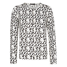 Buy Mango Leopard Print Cardigan Online at johnlewis.com