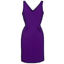 Buy Tara Jarmon Double V-Dress, Violet Online at johnlewis.com