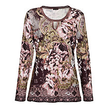 Buy Gerry Weber Paisley Tunic Top, Multi Online at johnlewis.com