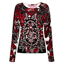 Buy Gerry Weber Print Top, Multi Online at johnlewis.com
