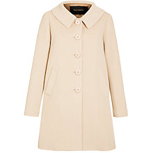 Buy Tara Jarmon Swing Coat, Beige Online at johnlewis.com