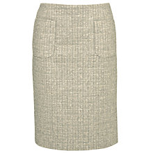 Buy Tara Jarmon Patch Pocket Skirt, Beige Online at johnlewis.com