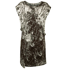 Buy Sandwich Marble Print Tunic, Slate Grey Online at johnlewis.com