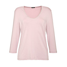 Buy Gerry Weber Beaded Neckline Top, Rose Online at johnlewis.com