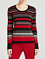 Gerry Weber Striped Jersey Top, Multi