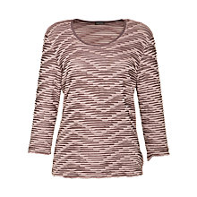 Buy Gerry Weber Ruffle Print Jersey Top Online at johnlewis.com