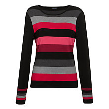 Buy Gerry Weber Striped Knit Jumper, Multi Online at johnlewis.com