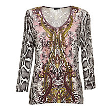Buy Gerry Weber Paisley Jumper, Multi Online at johnlewis.com