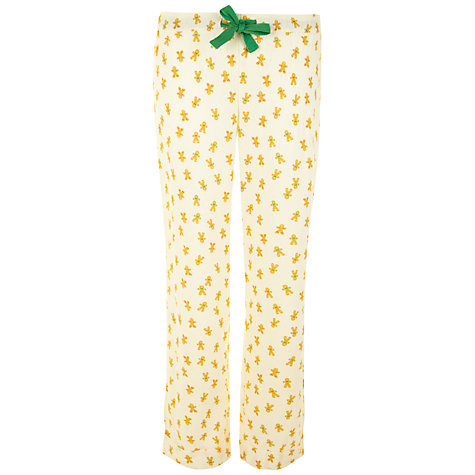 Buy Rampant Sporting Gingerbread Pyjama Set, Multi Online at johnlewis.com