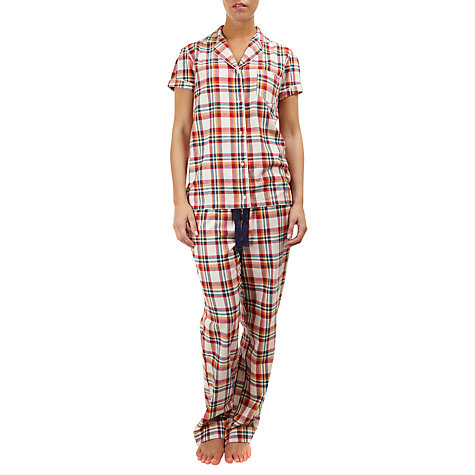 Buy Rampant Sporting Check Pyjama Set, Multi Online at johnlewis.com