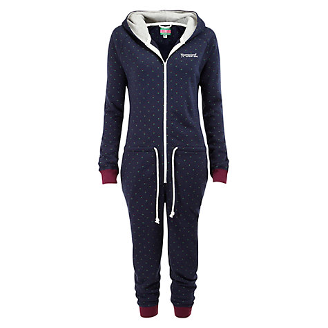 Buy Rampant Sporting Spotty Onesie, Navy / Multi Online at johnlewis.com