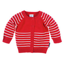 Buy Polarn O. Pyret Striped Cardigan Online at johnlewis.com