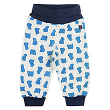 Buy Polarn O. Pyret Puppy Print Trousers Online at johnlewis.com
