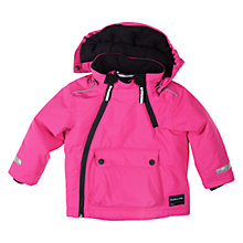 Buy Polarn O. Pyret Padded Coat, Pink Online at johnlewis.com