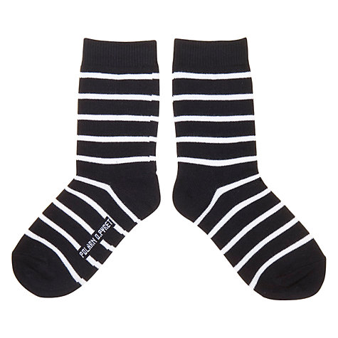Buy Polarn O. Pyret Striped Socks, Pack of 2 Online at johnlewis.com