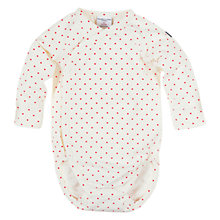 Buy Polarn O. Pyret Dotty Wraparound Bodysuit, Stockholm Online at johnlewis.com