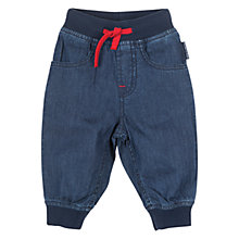 Buy Polarn O. Pyret Baby Trousers, Denim Online at johnlewis.com