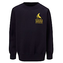 Buy Colfe's School Girls' Sports Sweatshirt, Navy Blue Online at johnlewis.com