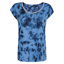 Buy Mango Tie Dye T-Shirt, Blue Online at johnlewis.com