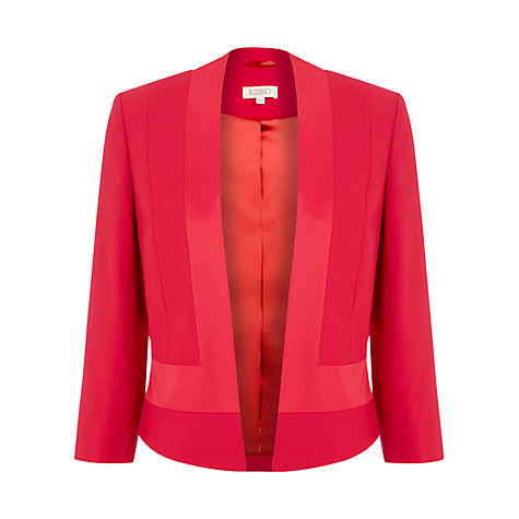 Buy Kaliko Panel Bolero Jacket, Pink Online at johnlewis.com