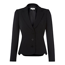 Buy Hobbs Mari Jacket, Black Online at johnlewis.com