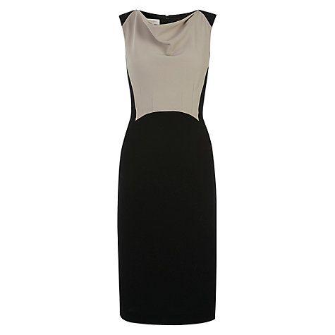 Buy Hobbs Mari Dress, Black Stone Online at johnlewis.com