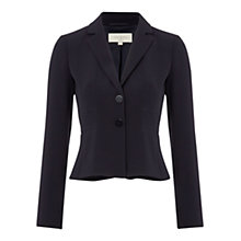 Buy Hobbs Millais Jacket, Navy Online at johnlewis.com