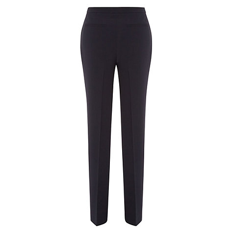 Buy Hobbs Millais Trousers, Navy Online at johnlewis.com